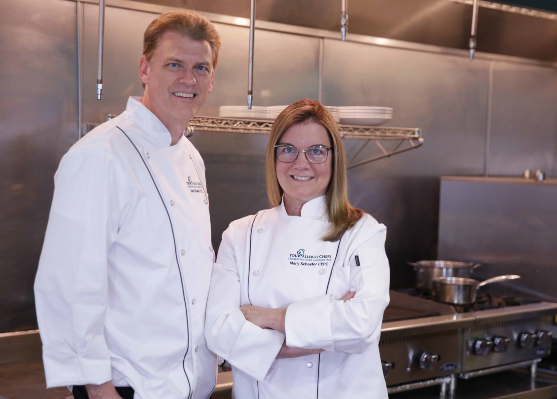 Joel and Mary Schaefer, founders of Your Allergy Chefs