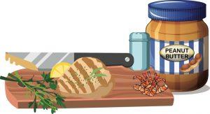 The danger of cross contact between foods