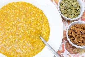 Allergen Free Pumpkin Risotto Recipe