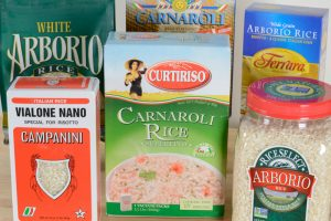 Varieties of riso for making risotto