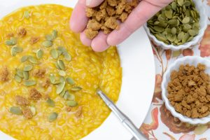 Easy Allergen Free Pumpkin Risotto Recipe