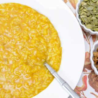 Allergy-friendly Pumpkin Risotto by Your Allergy Chefs
