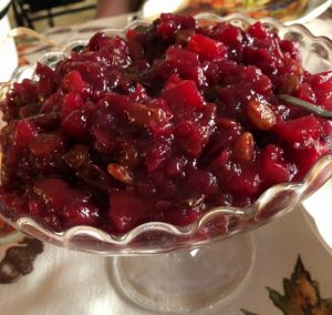 Cranberry Relish by Your Allergy Chefs