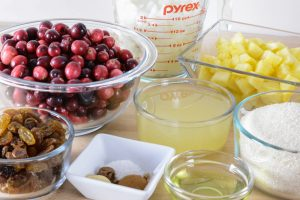 How To Make Allergen Free Cranberry Relish