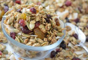 Allergy-friendly Toasted Coconut and Pumpkin Seed Granola