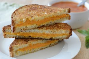 Best grilled cheese with tomato soup by Your Allergy Chefs