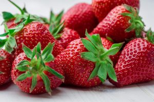 Strawberries are ranked #1 on 2017's Dirty Dozen list, ranking highest in pesticide residue of any fruit or vegetable.