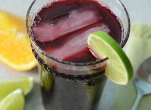 Allergen Free Agua de Jamaica Recipe