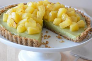 Best vegan and allergy-friendly lime tart