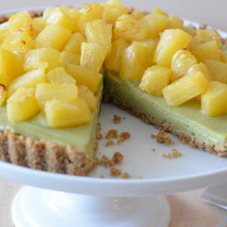 Best vegan and allergy-friendly lime tart