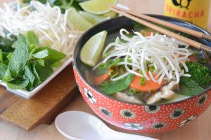 Gluten Free Lemongrass Pho Recipe