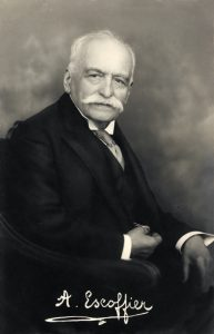 August Escoffier was the father of modern French cuisine.