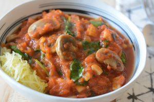 Allergen Free Spaghetti Squash Marinara Recipe