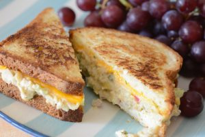 Vegan and allergy friendly Chickpea Melt