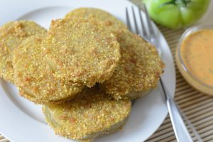 Allergen Free Fried Green Tomatoes Recipe