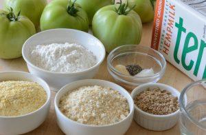 Gluten Free Fried Green Tomatoes Recipe