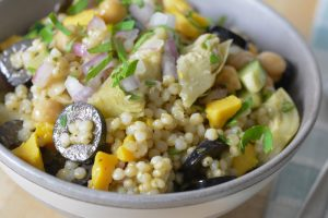 Allergen Free Greek Sorghum Salad Recipes