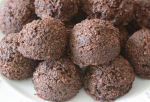 Allergy Friendly Coconut Cacao Bites Recipe