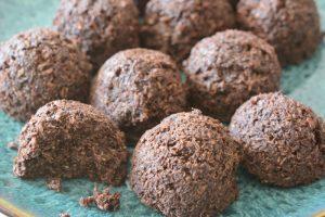 Allergen Free Coconut Cacao Bites Recipe
