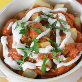 patatas bravas by Your Allergy Chefs