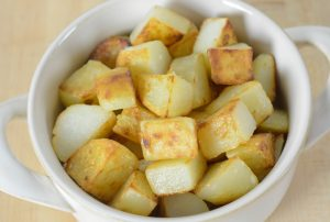 Allergen Free Roasted Patatas Bravas Recipe