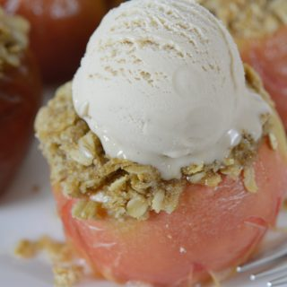 streusel stuffed baked apples from Your Allergy Chefs