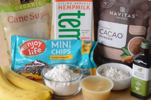 Gluten Free Double Chocolate Banana Brownie Recipe