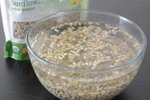 soaking sunflower seeds for mayo for Waldorf salad