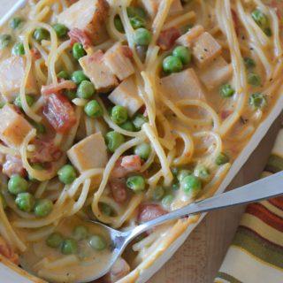 cheesy turkey spaghetti by Your Allergy Chefs