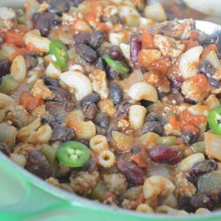turkey chili mac by Your Allergy Chefs