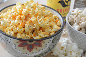 sriracha popcorn by Your Allergy Chefs