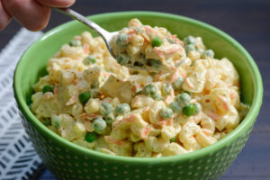 Allergy Friendly Potato Mac Salad Recipe