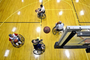 Exercises for those who are wheelchair bound