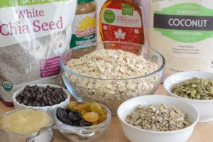 Gluten Free Trail Mix Bars Recipe