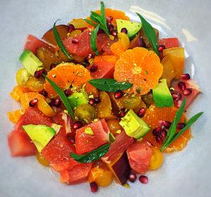 Chopped Spring Fruit Salad Recipe
