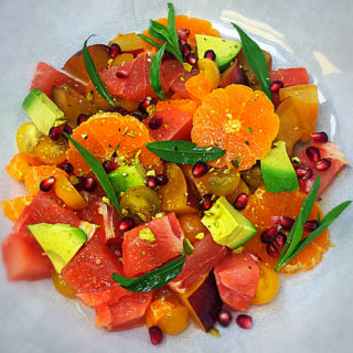 Chopped Spring Fruit Salad Recipe