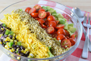 Southwest Sorghum Cobb Salad Recipe