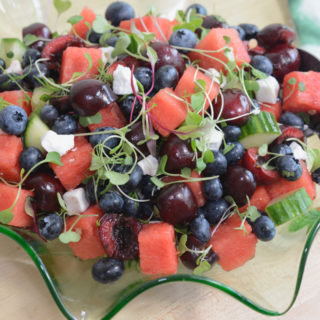 Watermelon Summer Fruit Salad Recipe