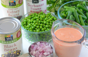 How to make allergen free four bean salad