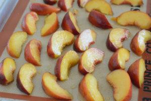 Roasted Peach shortcake recipe