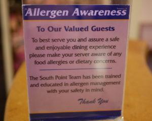 Best Allergy friendly restaurants in Las Vegas