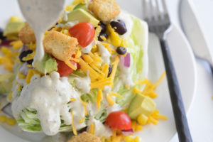 Your Allergy Chefs Southwestern Fully Loaded Wedge Salad