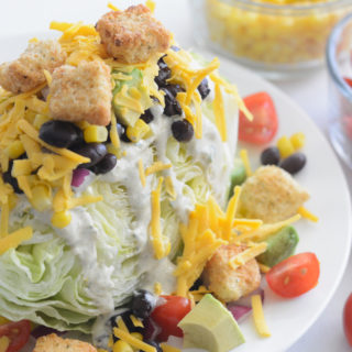 ultimate Southwestern Wedge salad