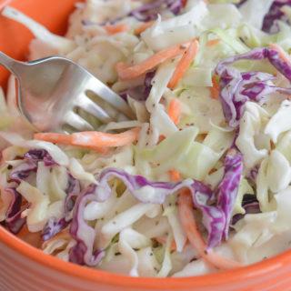 dairy free coleslaw