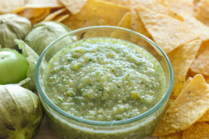 allergen free Mexican green salsa recipe