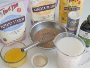 Allergen free crepe batter recipe