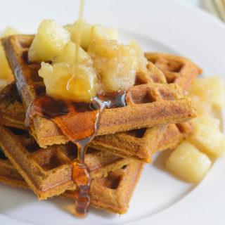 Allergen Free Gingerbread waffle recipe