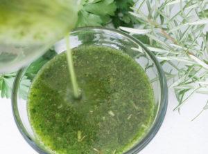 Emerald herb oil recipe