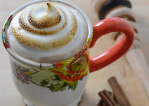 Your Allergy Chefs Mexican Hot Chocolate with Marshmallow Meringue