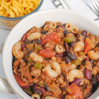 allergy friendly turkey chili mac